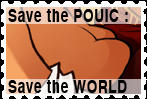 Stamp save the pouic by Nefermeritaset