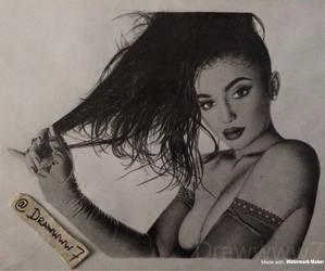Kylie Jenner by Drawwww7