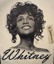 Whitney Houston by Drawwww7