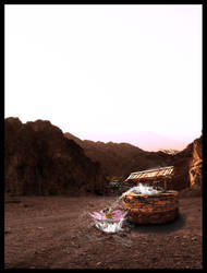 Desert of Water by RazyGraphicDesign