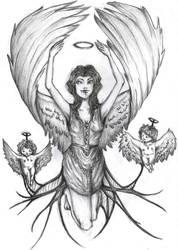 Calling the angels by JannieTheBlackWidow