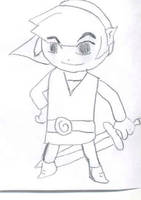 Wind Waker Link by LegendZeldaNet