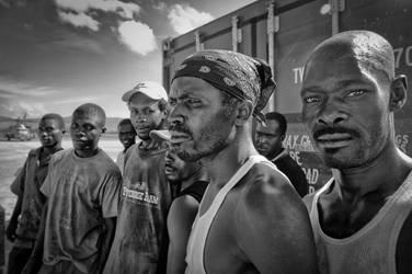 Men of Haiti by erikabarker
