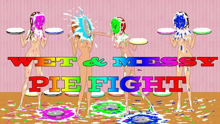 sexy pie fight show by sg19001