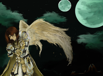 Angel's Prayer by MercuryAshoke