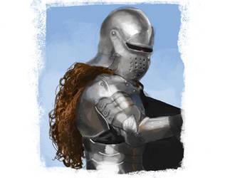 Knightssstudy by NilesRockwell