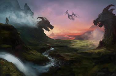 Dragonvalley by NilesRockwell
