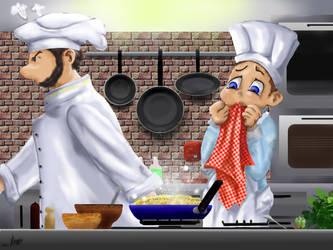 In the kitchen by sagatti