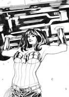 Wonder Woman by ThomasBlakeArtist
