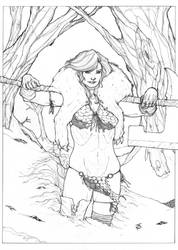 Red Sonja by ThomasBlakeArtist