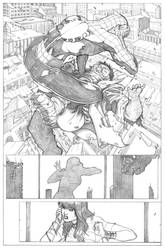 Amazing Spider-Man Page 2 - Pencil by ThomasBlakeArtist