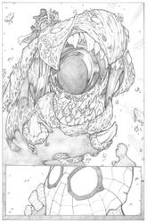 Amazing Spider-Man Page 4 - Pencil by ThomasBlakeArtist