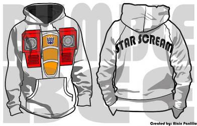 Starscream sweater G1 by AlainPanlilio