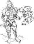 Sketch commission 6 by TotalArtFreak