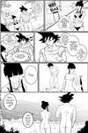 Dbz comic commission by TotalArtFreak