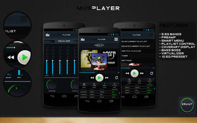 MusPlayer Complete Interface by kravent