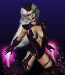 Sindel Fly by MsLiang
