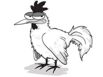 Robert The Chicken by inbryomusic