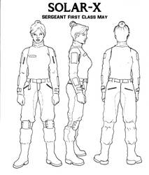 SERGEANT FIRST CLASS MAY INK by inbryomusic