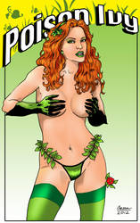 Poison Ivy Pin Up by inbryomusic