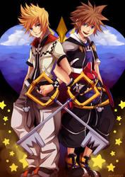 Two Stars of One Sky by marymarhta