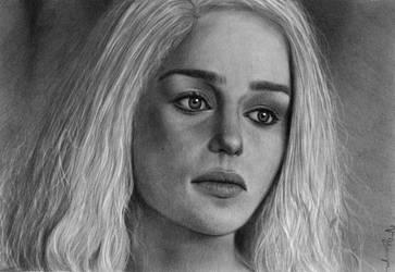 Daenerys Targaryen by VirginiaBovyn