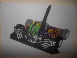 Battlebots-ABC season 2: Witch Doctor by sgtjack2016