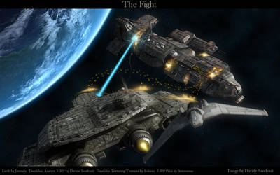 The Fight by Davide-sd