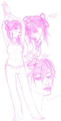 PE Sketchbook Exchange 02 by sanya