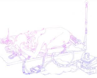 PE Sketchbook Exchange -- by sanya