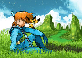 Nausicaa of the Valley of the Wind by Pino44io