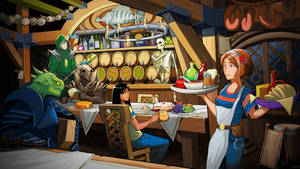 The Wandering Inn   Commission by Pino44io