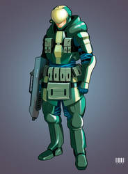 Marine | Commission by Pino44io