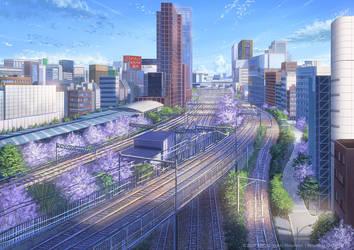 Shinjuku Station by PJYNico