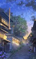 Good Night Kyoto by PJYNico