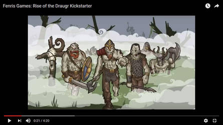 Fenris Games - Rise of the Draugr Kickstarter by snuurg