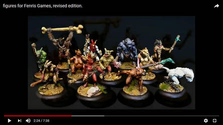 Figures for Fenris Games by snuurg