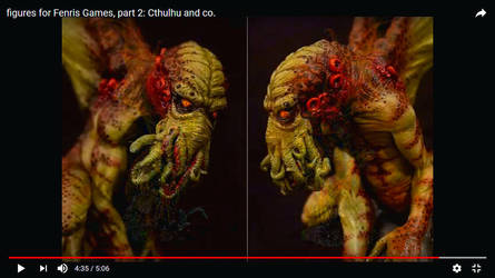 Figures for Fenris 2: Cthulhu and Co. by snuurg