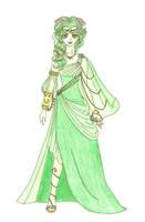 Farore - Goddess of Courage by akuriko