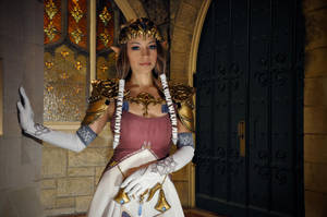 Princess Zelda by akuriko