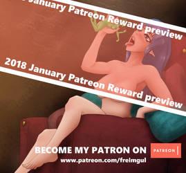 2018 January Patreon Reward - Delve into me by Freimgul