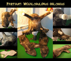 Megalobulimus oblongus-/ Snail-Partsuit by Kampfkewob