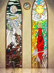 Stained Glass by Kampfkewob