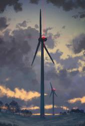 Windkraft by Kampfkewob