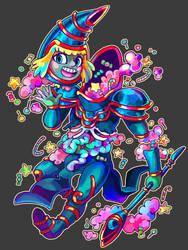 Toon Dark Magician - Candy Gore by Kampfkewob