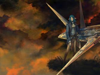 Zel - Threatening Skies by Kampfkewob