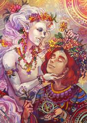 Flowers by Kampfkewob