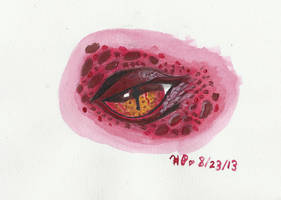 Smaug eye by Seaspray13