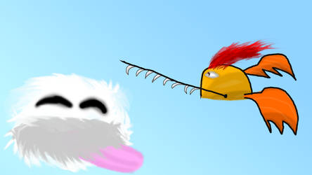 Flying Symbol Monster by GameInnovator