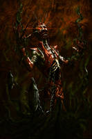 The Madness of Zon-Kuthon by NickNightshade